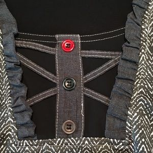 Vintage Dresses - Vintage Miss V Shift Dress Made in France Sz 42/44